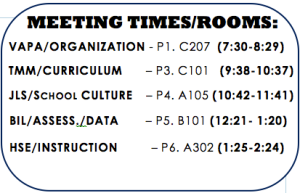 Meeting Times: