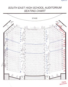 SEHS seating chart